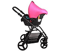Coche Travel System Orion Rosa