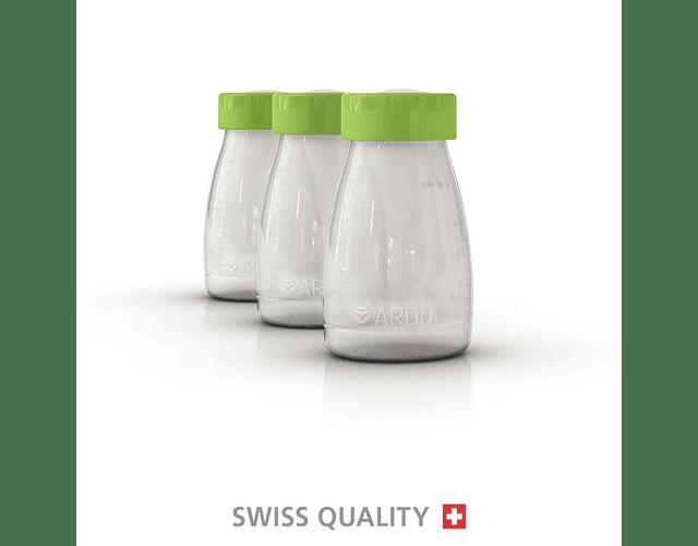 Set Botellas para leche 3 u. Ardo