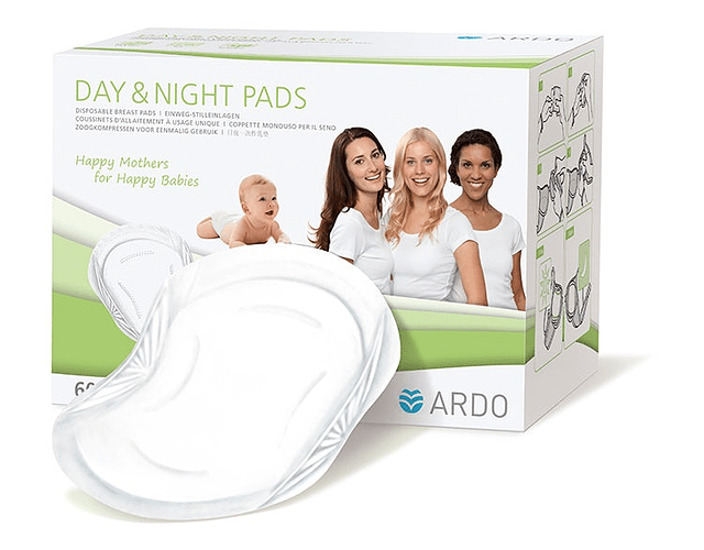 Day & Night Pads Almohadillas absorbentes 60 u. Ardo