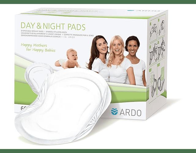 Day & Night Pads Almohadillas absorbentes 60 u. Ardo