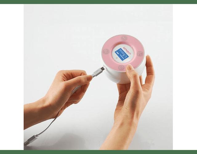 Minuet LCD Sacaleche Eléctrico Doble, Unimom