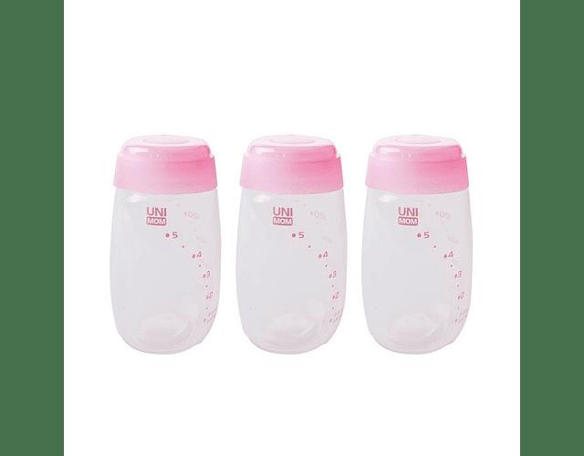 Botellas para leche 3 u. Unimom