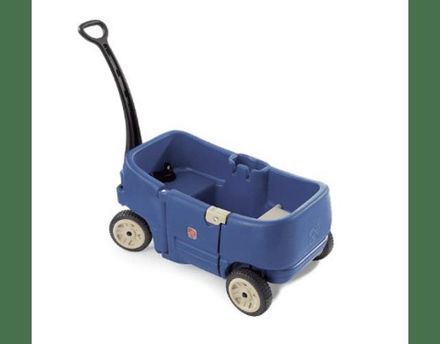 Carro de Arrastre para dos Niños Plus