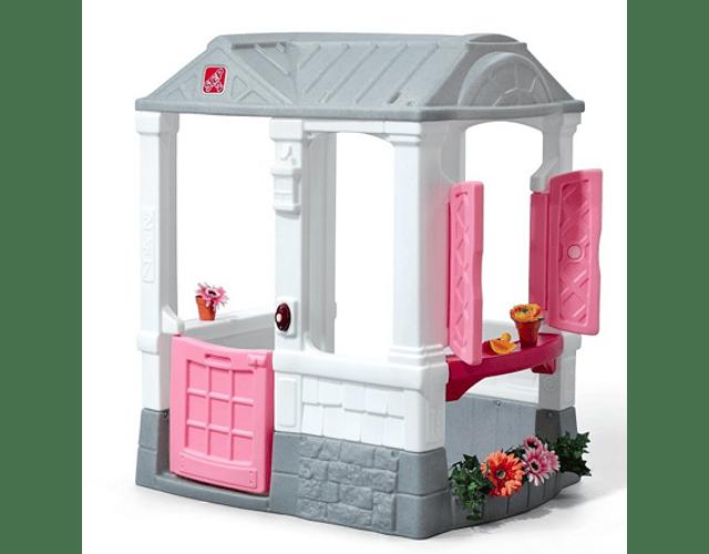 Casa Juego de Patio Rosa