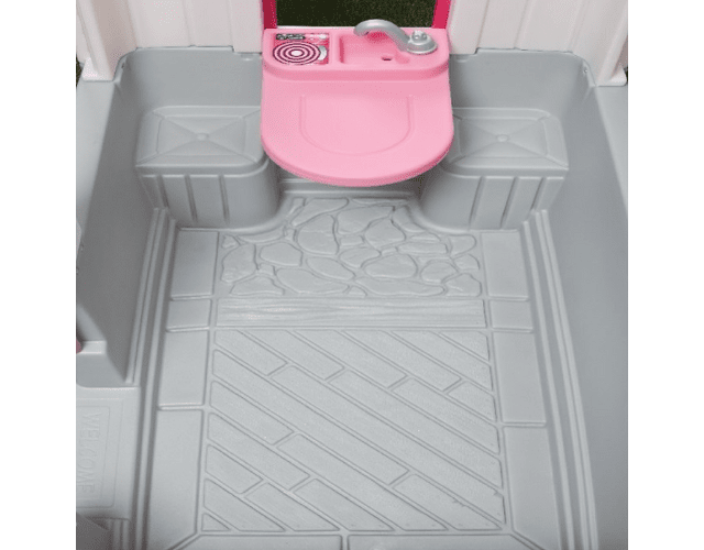 Casa de Juego Limpio y Ordenado Rosada