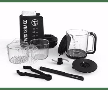 Procesador de alimentos Twistshake 6 en 1 Negro