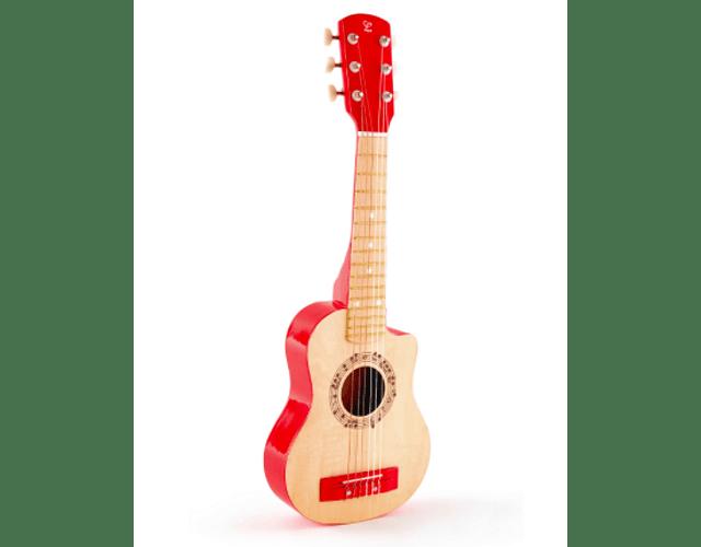 Guitarra Llama Roja