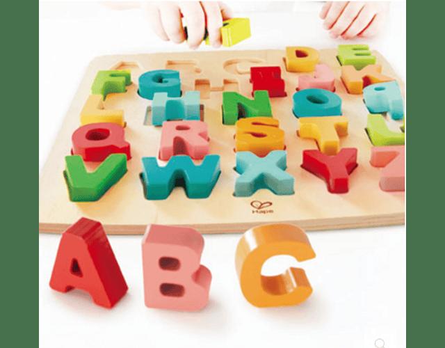Rompecabezas alfabeto mayúscula