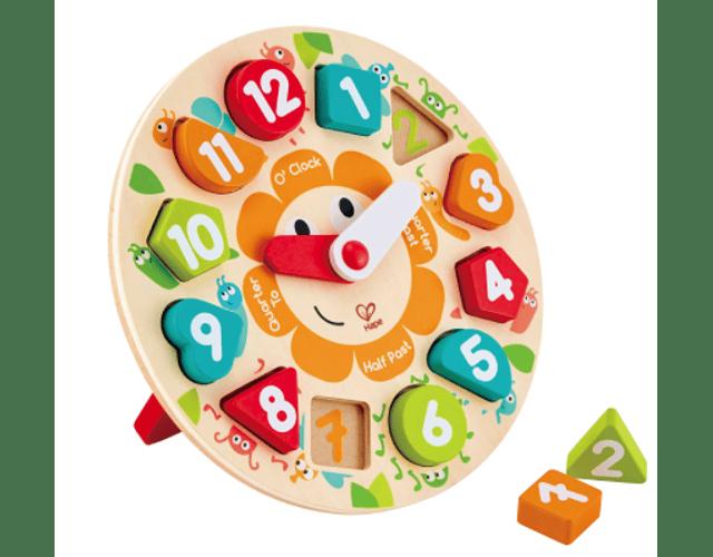 Puzzle de Reloj Robusto Hape