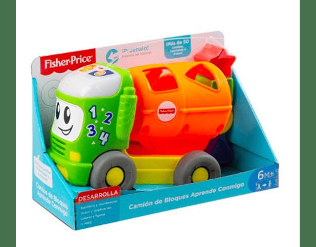 Fisher-Price® Camión de Bloques Aprende Conmigo