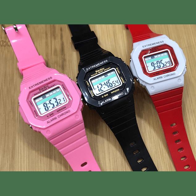 Relojes deportivos al por mayor y detal