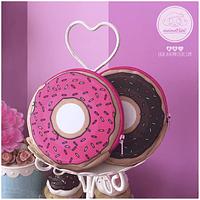 porta moedas donut