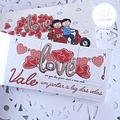 bloco de 40 vales de amor