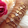 Love Bracelet with two medals