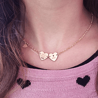 Love Necklace (two medals)