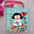 Kindergarten Teacher/Teacher Fabric Bag