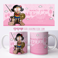caneca aiai wonder woman
