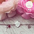 pulseira e colar princesa
