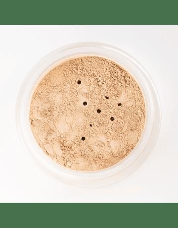 Fondo de Maquillaje. Bombón de Mazapán. Tono mediterráneo muy claro