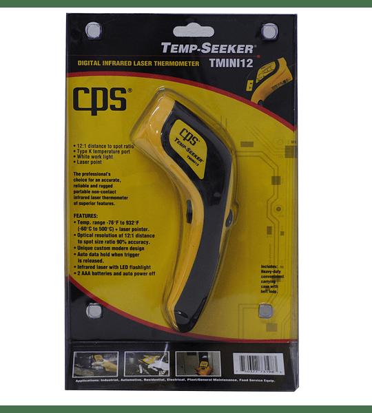 CPS Termómetro Láser Infrarrojo T MINI 12