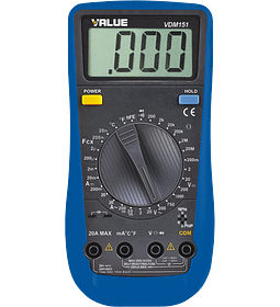 VALUE Multimedidor Digital VDM-151