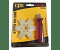 CPS Peine Plástico 6 Medidas TLFC6