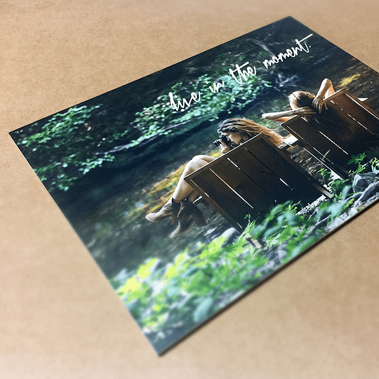 16pt Matte Silk Postcards