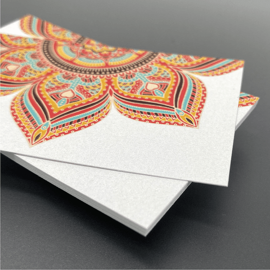 14pt Pearlesque Business Cards