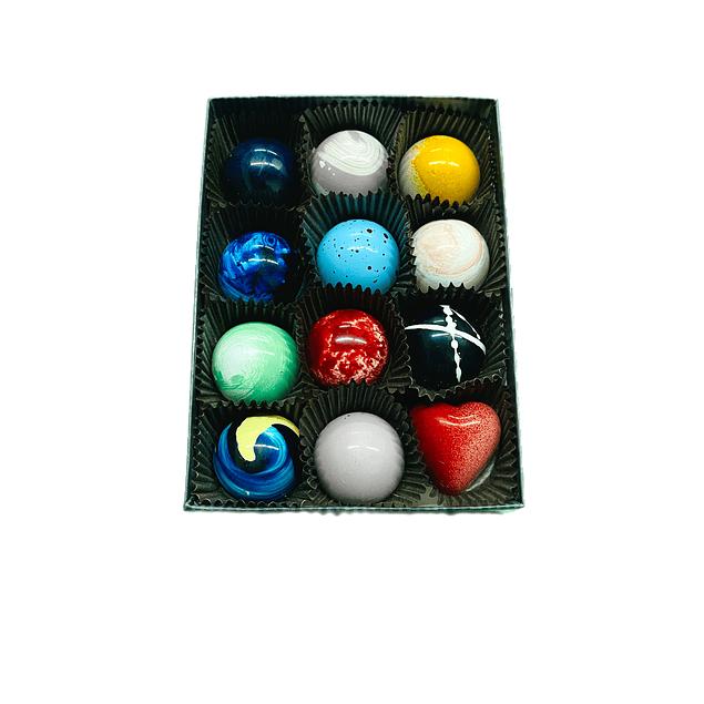 Caja de 12 bombones