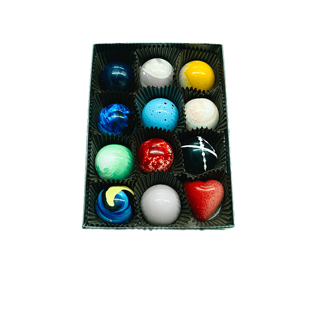 Box of 12 chocolates