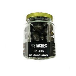 Pistaches con chocolate oscuro