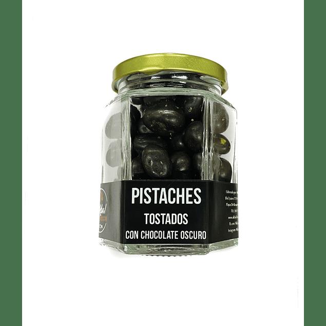 Pistaches with dark chocolate