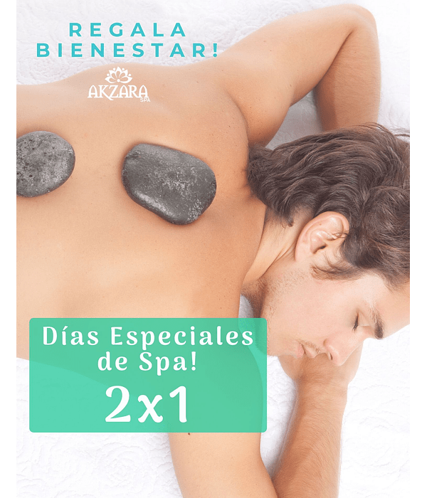 2X1 Sacred Stones Ritual - Special Spa Days!