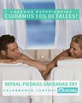2X1 Ritual Piedras Sagradas - Dias especiales de Spa!