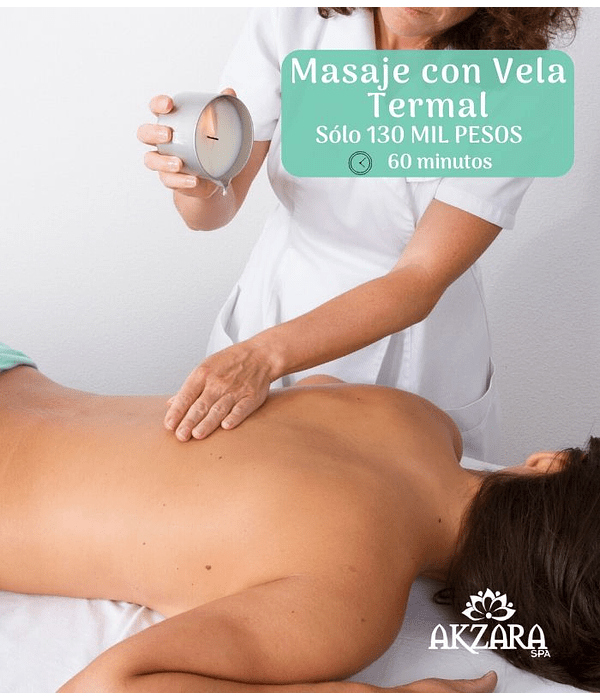Masaje Relajación con Vela Termal / Relaxing massage with thermal candle