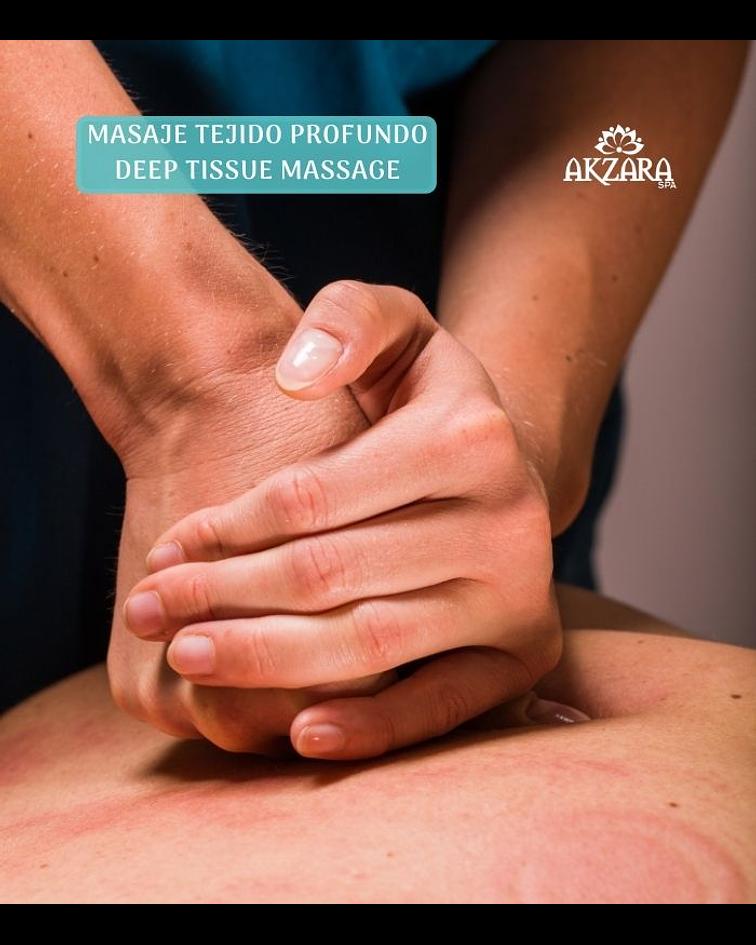 Masaje de Tejido Profundo / Deep Tissue Massage