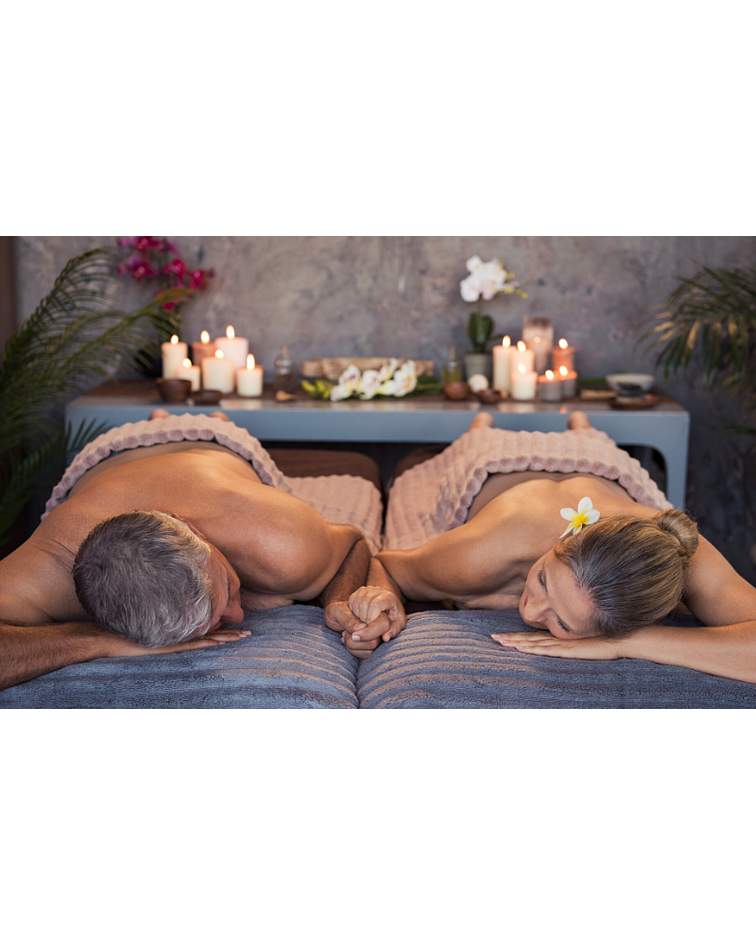 Masaje Relajación con Vela Termal