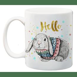 Tazón Clásico Conejo Hello
