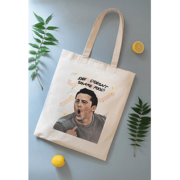 TOTEBAG JOEY DOESNT SHARE FOOD
