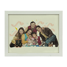 CUADRO FAMILIA HERRERA 20X25 CMS