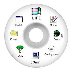 Windows 95 white 53mm 102a
