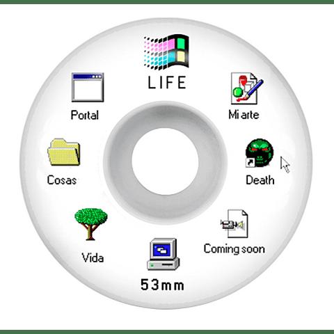 Windows 95 white 53mm 102a