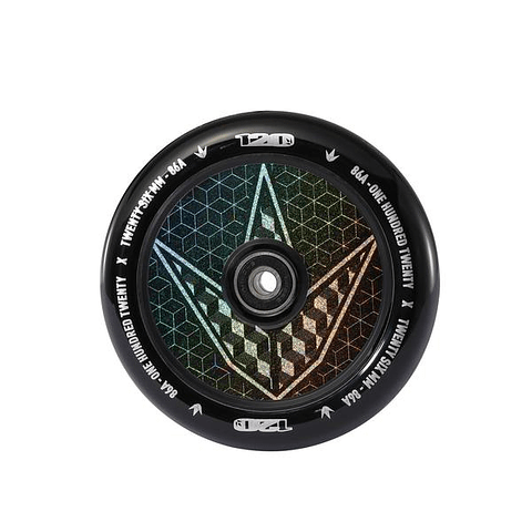 Hollow Core 120mm Geo logo Hologram
