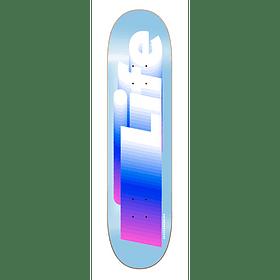 """Life Logo sky blue 8,375"""""""