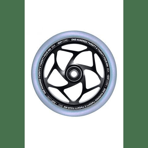 120mm Gap Core Wheel Black Galaxy