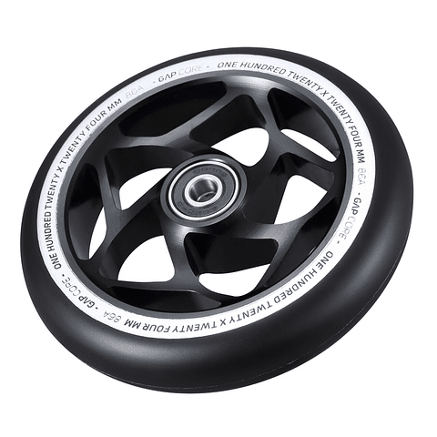 120mm Gap Core Wheel Black Black