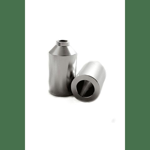 Aluminium Peg Silver w/Axle