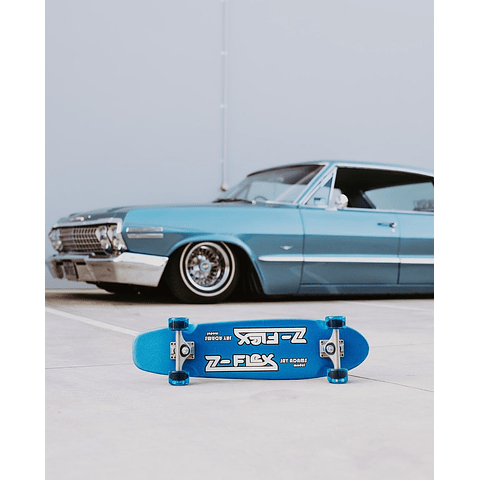 Jay Adams Blue Metal Flake Cruiser