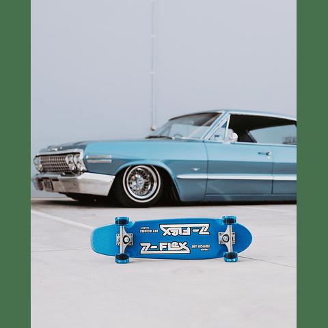 Jay Adams Blue Metal Flake Cruiser