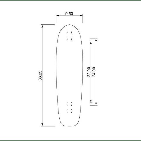"Skyline 36"" Deck"